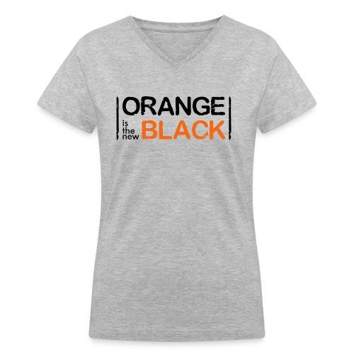 Free Piper, Orange is the New Black Women's - Women's V-Neck T-Shirt