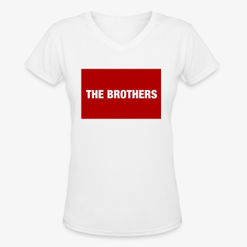The Brothers - Women's V-Neck T-Shirt