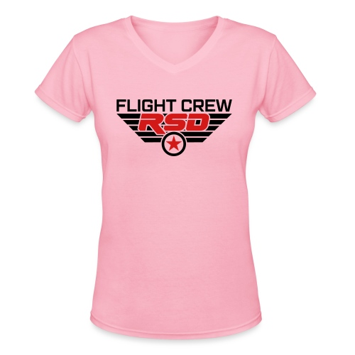 RSD Flight Crew - Women's V-Neck T-Shirt