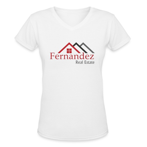 Fernandez Real Estate - Women's V-Neck T-Shirt