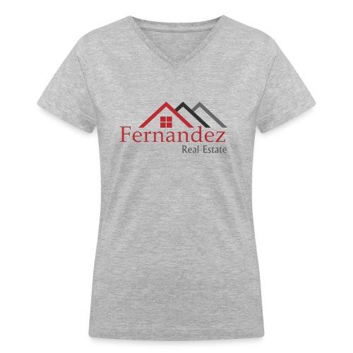 Fernandez Real Estate - Women's V-Neck T-Shirt
