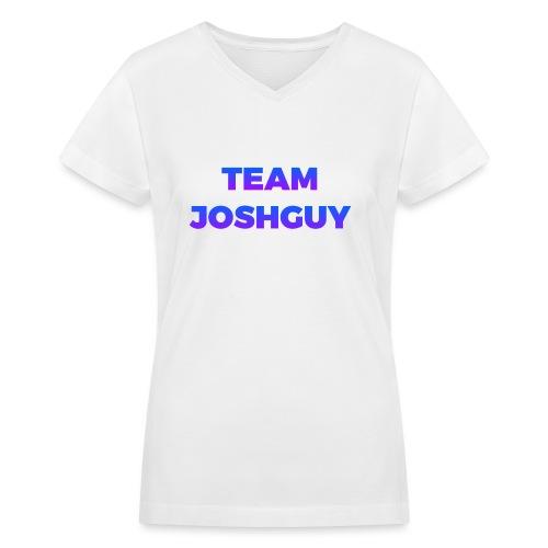 Team JoshGuy - Women's V-Neck T-Shirt