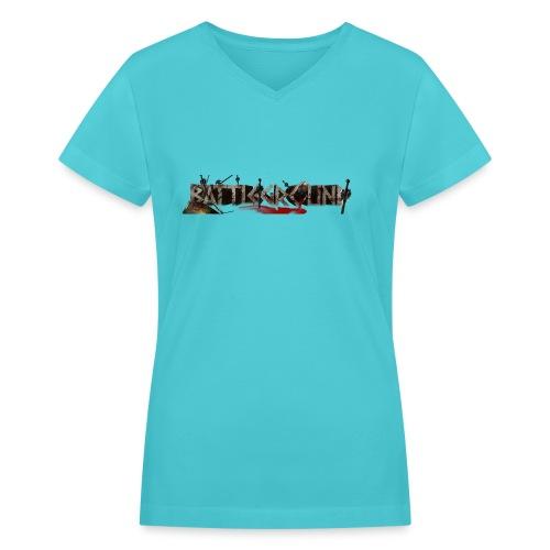 EoW Battleground - Women's V-Neck T-Shirt