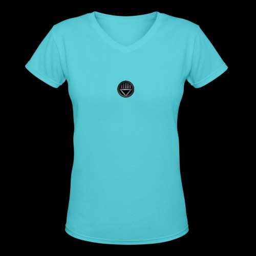 Knight654 Logo - Women's V-Neck T-Shirt