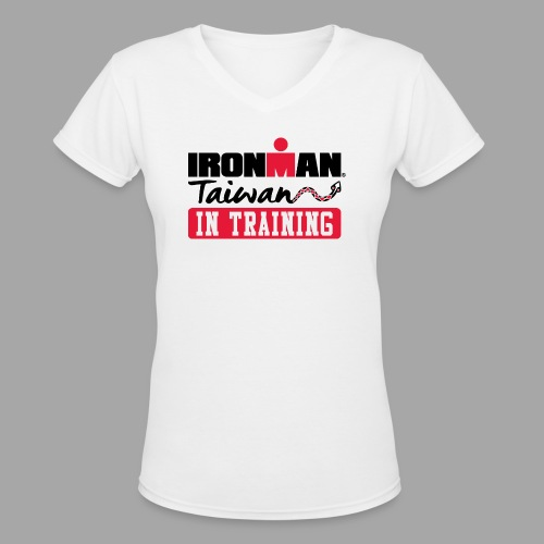 im taiwan it - Women's V-Neck T-Shirt