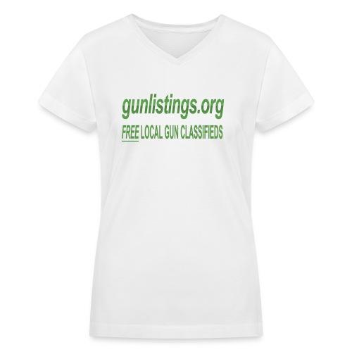 talllogo - Women's V-Neck T-Shirt