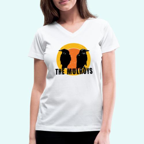 TwoCrows2 - Women's V-Neck T-Shirt