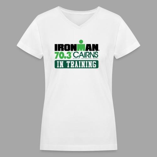 703 cairns it - Women's V-Neck T-Shirt