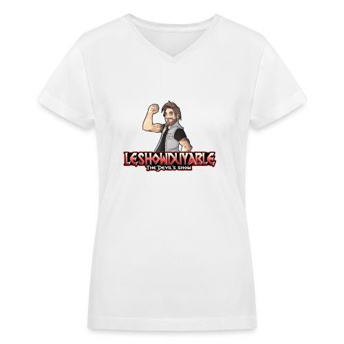 LeShowDuyable Hola! - Women's V-Neck T-Shirt