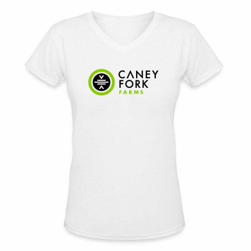 CFF Primary Color - Women's V-Neck T-Shirt