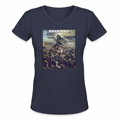 This Is America - Women's V-Neck T-Shirt