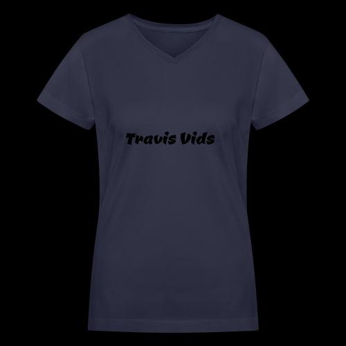 White shirt - Women's V-Neck T-Shirt