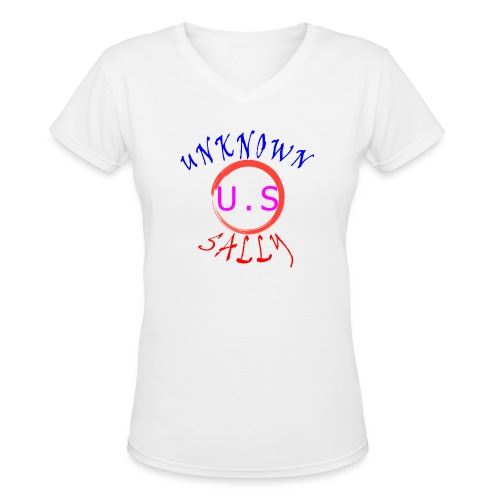 Initial Hoodie - Women's V-Neck T-Shirt