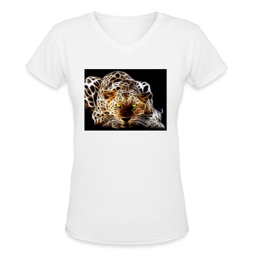 close for people and kids - Women's V-Neck T-Shirt