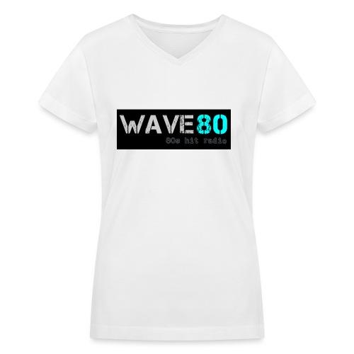 Main Logo - Women's V-Neck T-Shirt