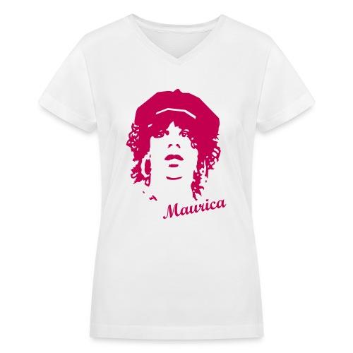 MAURICA 2 - Women's V-Neck T-Shirt