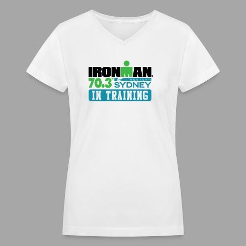 70.3 Western Sydney - Women's V-Neck T-Shirt