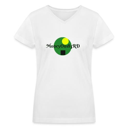 MoneyOn183rd - Women's V-Neck T-Shirt