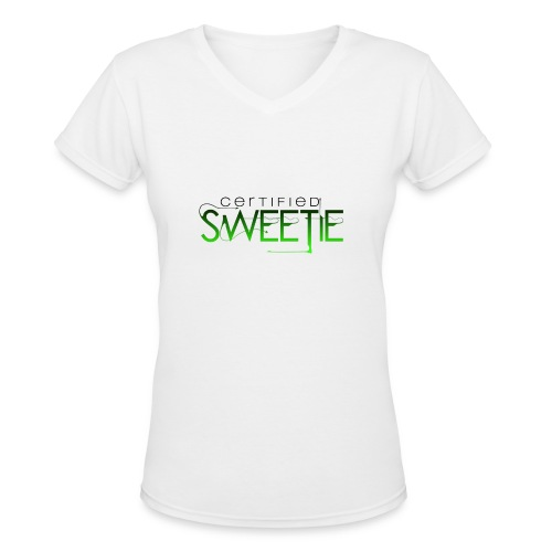 12 - Women's V-Neck T-Shirt