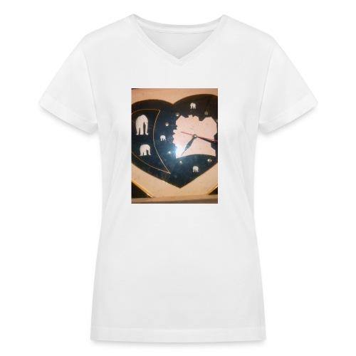 Art - Women's V-Neck T-Shirt