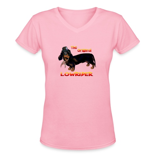 The Original Lowrider - Women's V-Neck T-Shirt
