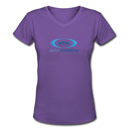 Senior Marketing Specialists - Women's V-Neck T-Shirt