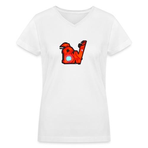 BW - Women's V-Neck T-Shirt