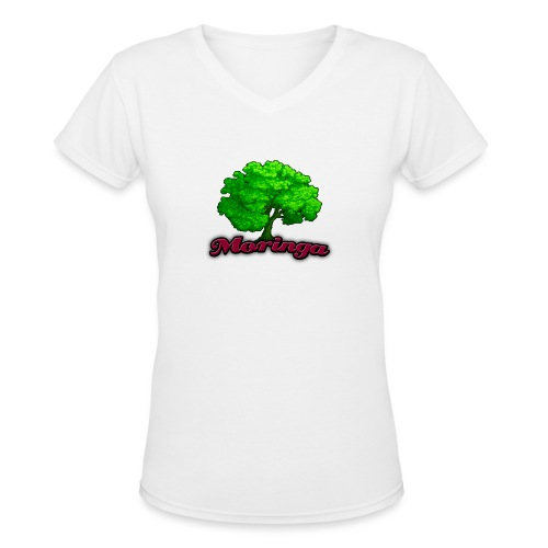 Moringa Games Mug - Women's V-Neck T-Shirt