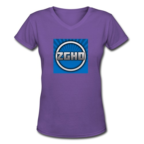 ZedGamesHD - Women's V-Neck T-Shirt