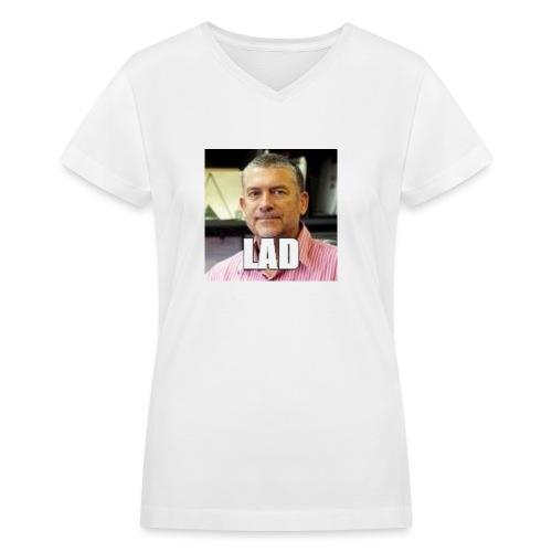 CHCCS meme design 2 - Women's V-Neck T-Shirt
