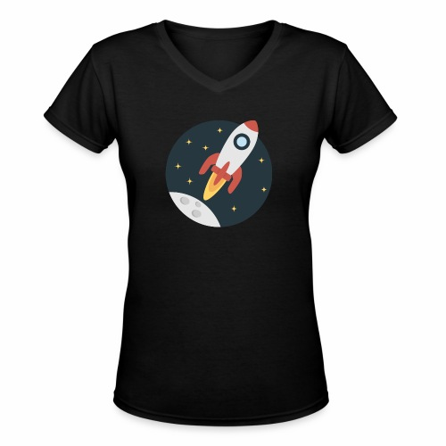 instant delivery icon - Women's V-Neck T-Shirt