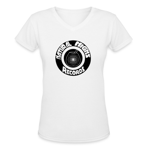 Natural Highs Records - Women's V-Neck T-Shirt