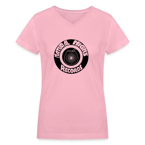 Natural Highs Records - Women's V-Neck T-Shirt