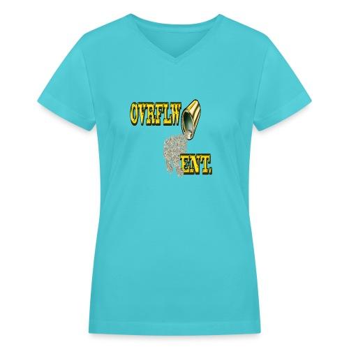 OVRFLW - Women's V-Neck T-Shirt