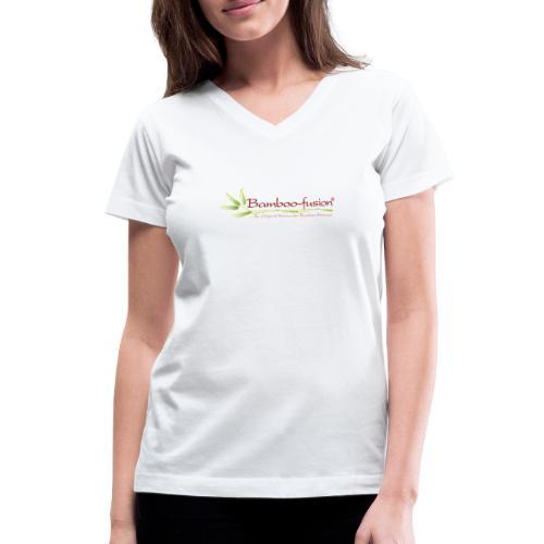 Bamboo-Fusion company - Women's V-Neck T-Shirt