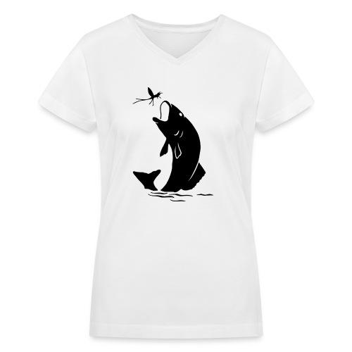 fishermen - Women's V-Neck T-Shirt
