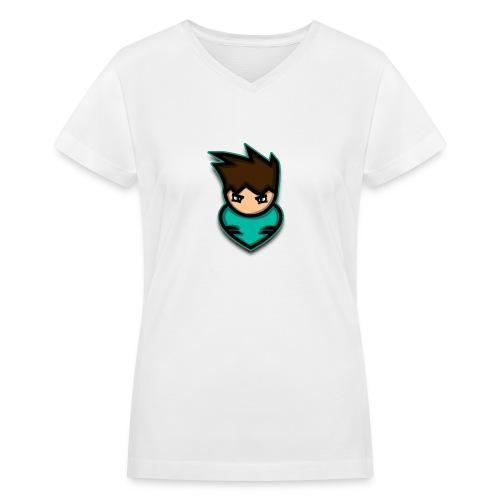 warrior - Women's V-Neck T-Shirt