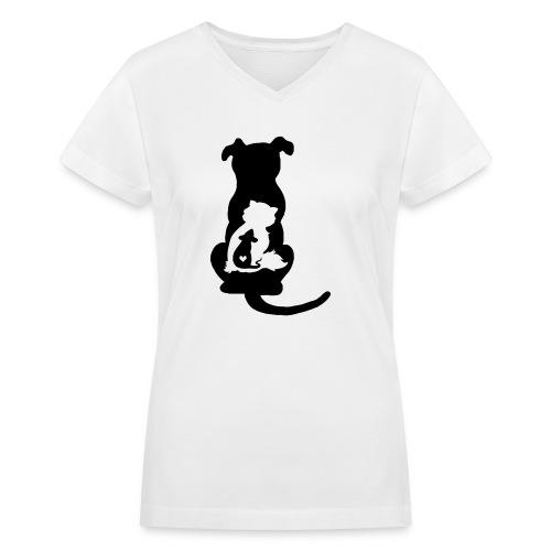 Harmony - Women's V-Neck T-Shirt