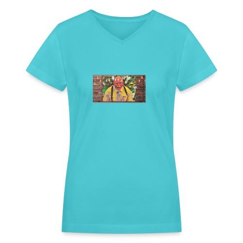 Dr Kelsey - Women's V-Neck T-Shirt