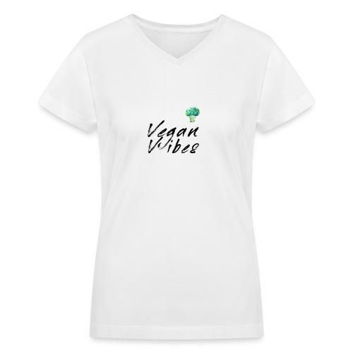 imageedit 1 7450476601 jpg - Women's V-Neck T-Shirt