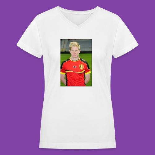 738e0d3ff1cb7c52dd7ce39d8d1b8d72_without_ozil - Women's V-Neck T-Shirt