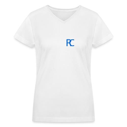 Blu REACH - Women's V-Neck T-Shirt