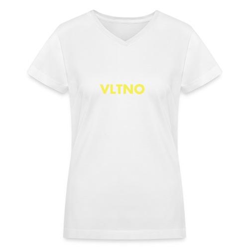 VLTNO LOGO - Women's V-Neck T-Shirt