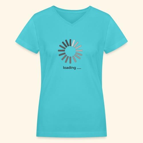 poster 1 loading - Women's V-Neck T-Shirt