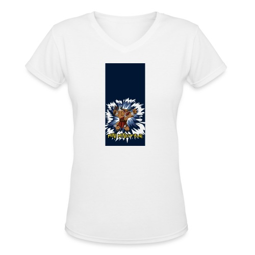 minotaur5 - Women's V-Neck T-Shirt
