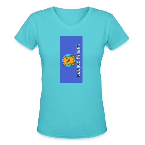 logo iphone5 - Women's V-Neck T-Shirt