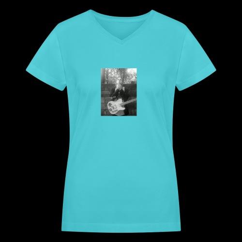 The Power of Prayer - Women's V-Neck T-Shirt