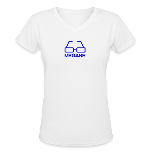 MEGANE - Women's V-Neck T-Shirt