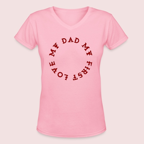 Happy Father's Day - Women's V-Neck T-Shirt