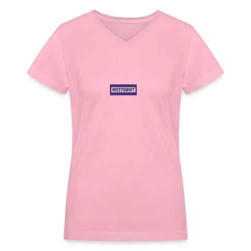 Westurnt - Women's V-Neck T-Shirt